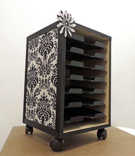 Do it yourself scrapbooking paper cabinet | chandlercreations