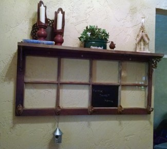 Old window repurpose